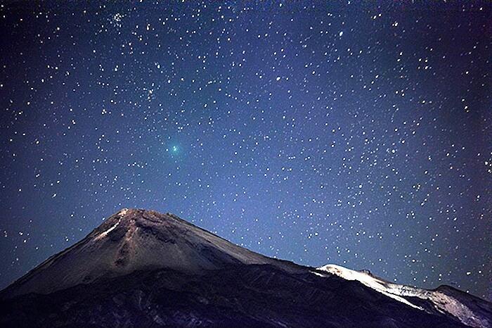 Ausflug Sternenbeobachtung im teide nationalpark bei nacht
