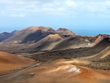 Parc national de timanfaya, par bus avec un guide officiel