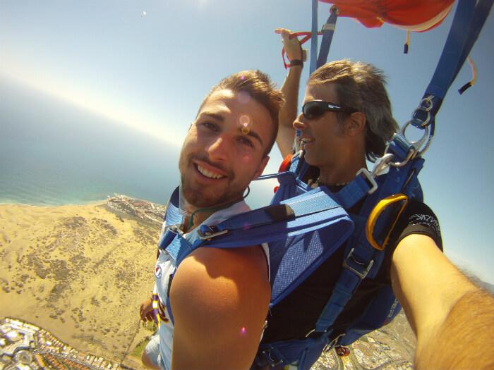 Excursión Salto en paracaídas