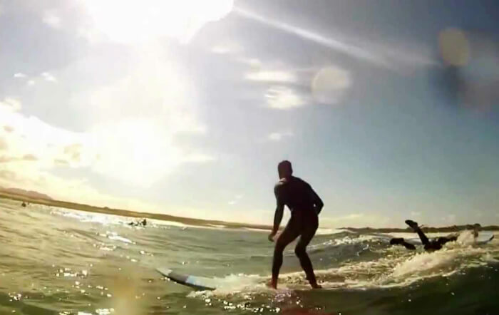 Экскурсия Уроки серфинга на севере острова фуэртэвентура